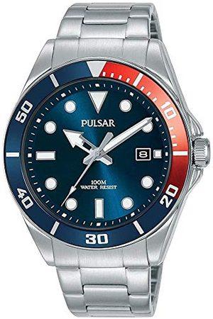 Pulsar Zegarek kwarcowy z bransoletką ze stali szlachetnej 8431242963600