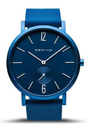 Bering Unisex analogowy zegarek True Aurora z silikonowym paskiem 16940-799