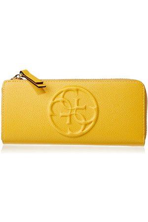 Guess Portfel na monety, YEL (żółty) - SWAMY2-P6293-YEL