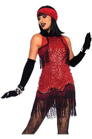 Leg Avenue LegAvenue kostium damski Gatsby Girl, Burgundy, XL