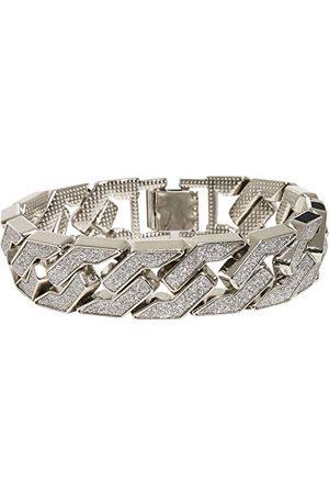 Urban classics Unisex Glitter Bracelet inteligentna bransoletka, srebrna, L/XL
