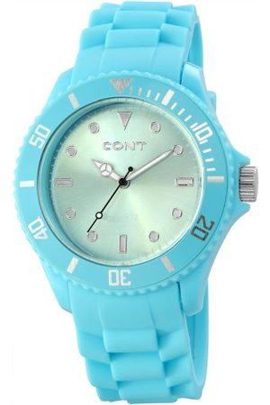 CONT Męski zegarek na rękę XL analogowy kwarcowy silikon RP3458350003