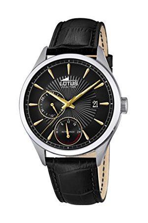 Lotus Męski multicyferblat kwarcowy zegarek ze skórzanym paskiem 18577/6