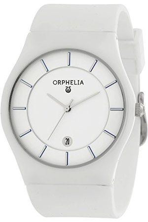 ORPHELIA Męski-ceramiczny zegarek na rękę Infinity analogowy kwarcowy silikon Pasek