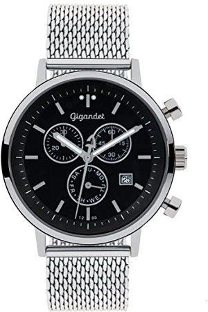 Gigandet Classico zegarek męski chronograf kwarcowy analogowy z metalową bransoletką G6-012