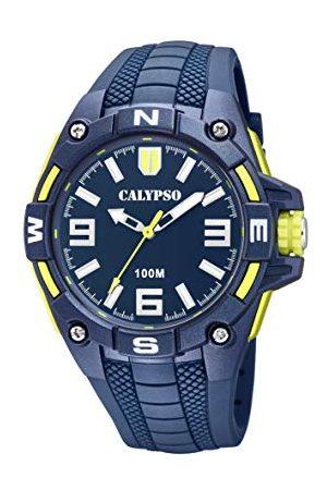 Calypso Calypso zegarki męskie analogowy klasyczny zegarek kwarcowy z plastikowym paskiem K5761/2