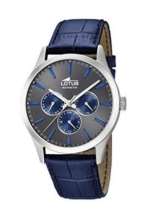Lotus Męski analogowy kwarcowy zegarek ze skórzanym paskiem 18576/3