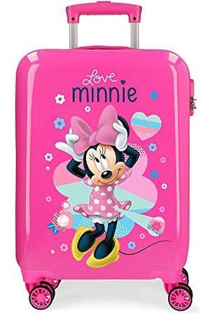Disney Love Minnie walizka kabinowa różowa, Rosa (różowy) - mp-7360