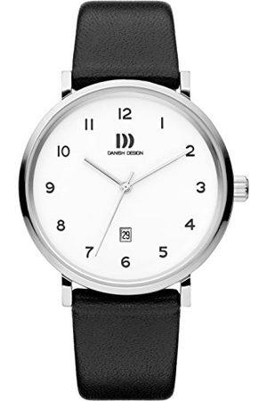 Danish Design Męski analogowy zegarek kwarcowy ze skórzanym paskiem IQ12Q1216