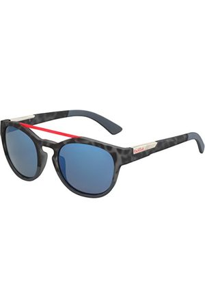 Bolle Boxton okulary przeciwsłoneczne dla dorosłych, Black Tortoise Red Soft, Medium