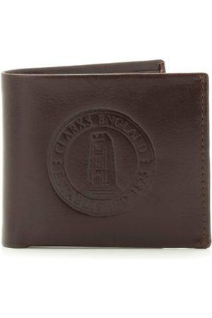 Clarks Russian Jewels, męskie portmonetki, brązowe (brązowa)