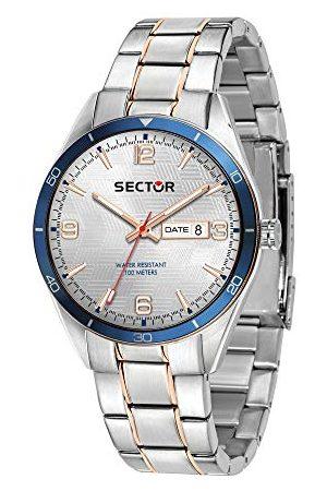 Sector No Limits męski analogowy zegarek kwarcowy z bransoletką ze stali szlachetnej R3253516002