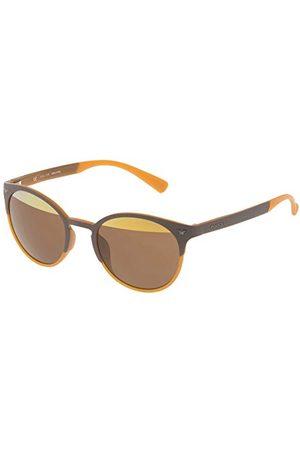 Police Unisex SPL162V506L2H okulary przeciwsłoneczne, brązowe (Marrón), 50