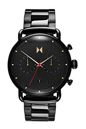 MVMT Męski analogowy zegarek kwarcowy z bransoletką ze stali szlachetnej 2800051-D