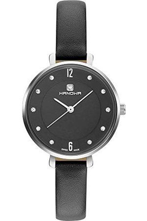 Swiss Military Hanowa Zegarki - Unisex dla dorosłych analogowy zegarek kwarcowy ze skórzaną bransoletką 16-6082.04.007