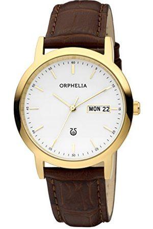 ORPHELIA Męski zegarek na rękę Momento analogowy kwarcowy Pasek