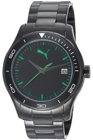 PUMA Time męski zegarek na rękę XL Ride 3HD metal- L analogowy kwarcowy stal szlachetna PU102571004