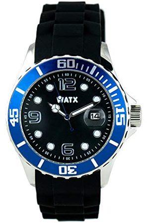 Watx Analogowy zegarek kwarcowy z gumową bransoletką RWA9019