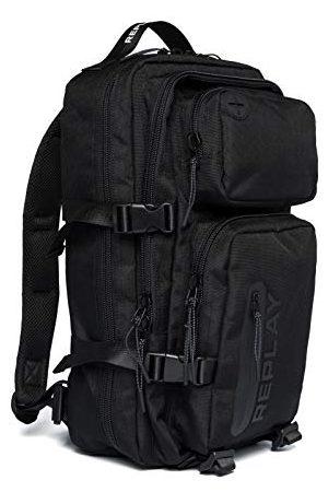 Replay Męska FM3506 torba plecakowa, 098 czarna, UNIC
