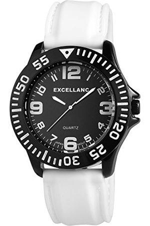 Excellanc Męski zegarek na rękę XL analogowy kwarcowy różne materiały 22557200007