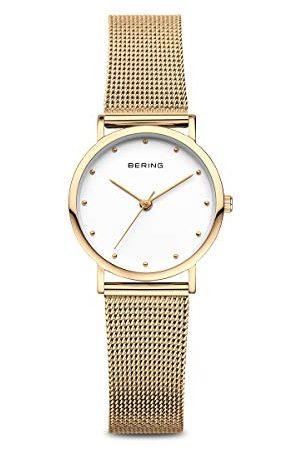 Bering Damski analogowy zegarek kwarcowy z bransoletką ze stali szlachetnej 13426-334