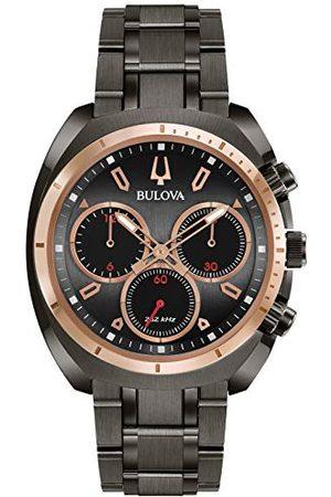 BULOVA Męski chronograf kwarcowy zegarek z bransoletką ze stali szlachetnej 98A158