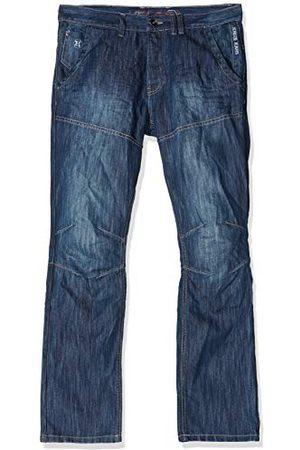 Kruze Jeans Męskie proste dżinsy