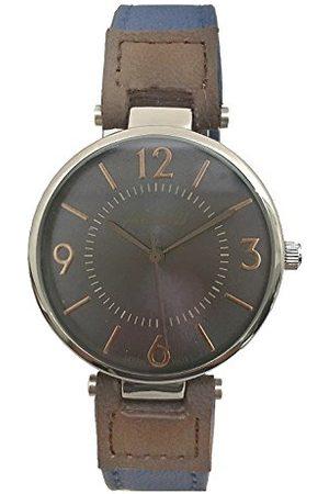 Arabians Męski analogowy zegarek kwarcowy ze skórzanym paskiem DBA2198A