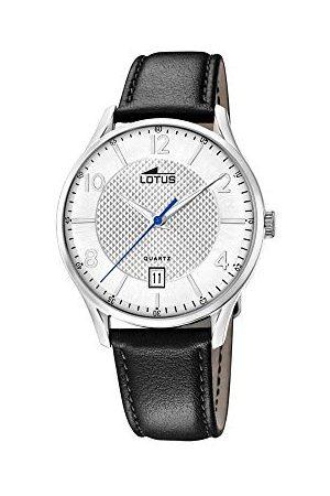 Lotus Męski analogowy kwarcowy zegarek ze skórzanym paskiem 18402/A