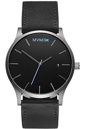 MVMT Męski analogowy zegarek kwarcowy ze skórzanym paskiem D-MM01-BSL
