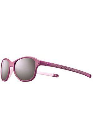 Julbo Chłopiec Okulary przeciwsłoneczne - Chłopięce okulary przeciwsłoneczne BOOMERANG śliwka / neonowy róż, FR : XXS (talia Fabricant: 4-6 ans)