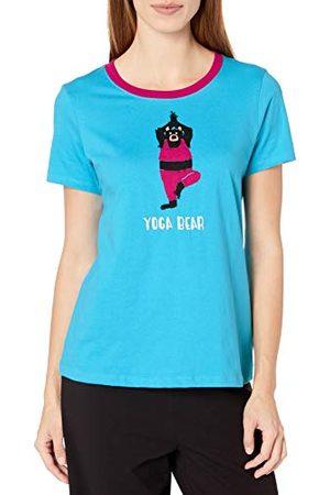 Hatley Damska słodka piżama koszulka top