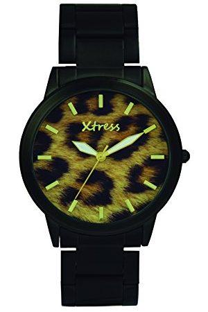 XTRESS Męski analogowy zegarek kwarcowy z bransoletką ze stali szlachetnej XNA1034-07