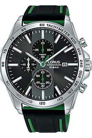 Lorus Męski analogowy zegarek kwarcowy z silikonową bransoletką RM349GX9