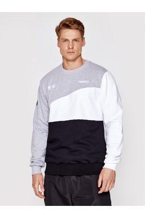 PROSTO. Mężczyzna Bluzy sportowe - Bluza KLASYK Crewneck Ademo 1012 Regular Fit