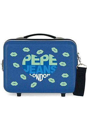 Pepe Jeans ABS torba na przybory Ruth niebieska