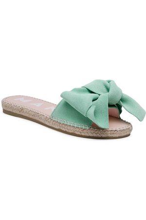 MANEBI Espadryle Sandals With Bow M 3.1 J0