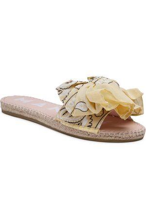 MANEBI Espadryle Sandals With Bow G 5.7 J0