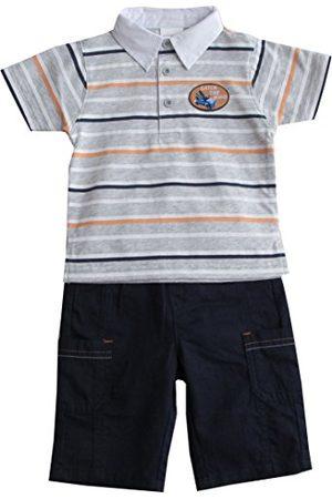 Schnizler Chłopięcy Catch The Waves z koszulką polo i bermudami zestaw odzieży