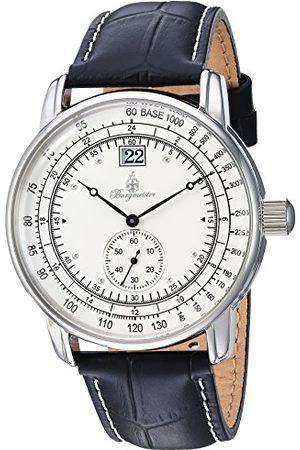 Burgmeister Męski analogowy zegarek kwarcowy ze skórzanym paskiem BM333-182