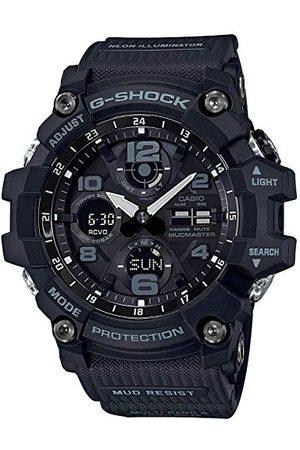 Casio Męski zegarek cyfrowy z bransoletką z żywicy GWG-100-1AER