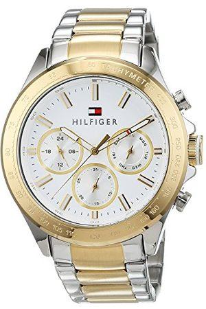 Tommy Hilfiger Męski multicyferblat kwarcowy zegarek z bransoletką ze stali szlachetnej 1791226