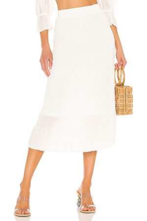 Line Tai Skirt in - White. Size L (also in S, XS, M).