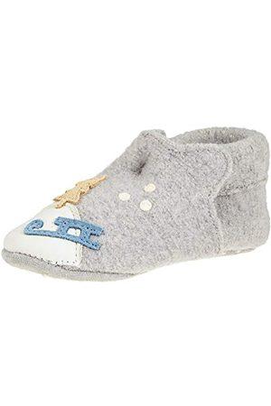 Living Kitzbühel Kapcie domowe Baby Newborn Niedźwiedź polarny i sanki, uniseks, - jasnoszary - 20.5 EU