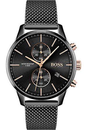 HUGO BOSS Zegarek kwarcowy z bransoletką ze stali szlachetnej 1513811