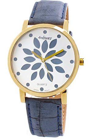 ARABIANS Męski analogowy zegarek kwarcowy ze skórzanym paskiem DPP2197A2