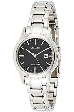 Citizen Damski analogowy zegarek kwarcowy z bransoletką ze stali szlachetnej FE1081-59E