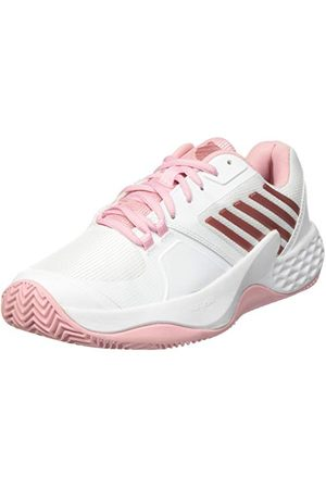 Dunlop K-Swiss Damskie buty sportowe Aero Court Hb, - White Coral Blush Metallic Rose - 41 EU
