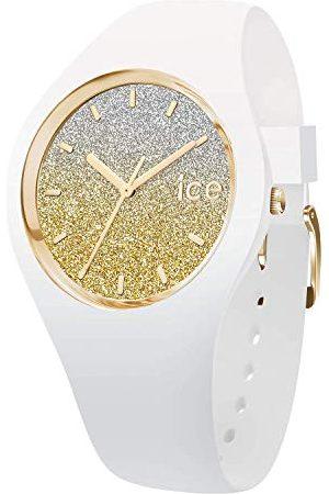 Ice-Watch Ice Lo White Gold - zegarek damski z silikonowym paskiem bransoletka Small