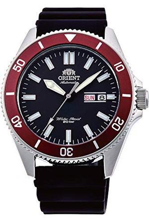 Orient Męski analogowy automatyczny zegarek z silikonowym paskiem RA-AA0011B19B